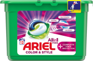Ariel Allin1 +Complete Fiber Care Kapsułki do prania, 13 prań s