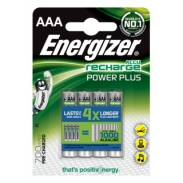 Akumulator ENERGIZER Power Plus, AAA, HR03, 1,2V, 700mAh, 4szt