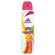 Adidas Dezodorant Spray Get Ready Woman Antyperspiracyjny Cool&Care 150ml