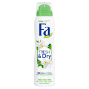 Fa Dezodorant Spray Fresh&Dry Green Tea 150 Ml