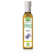Look Food Olej Lniany Bio 250ml