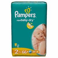 Pampers Pieluchy Value Pack(-)Mini 66 sztuk