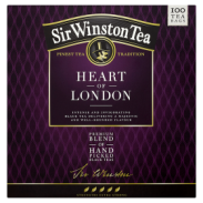 S.Winston Herbata Czarna Heart Of London 100 torebek