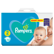 Pampers Active Baby Roz.2,100sztuk
