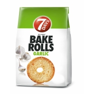 Bake Rolls Garlic 160g