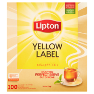 Lipton Yellow Label Herbata czarna 200 g (100 x 2 g) Koperty