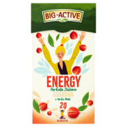 Big Active Herbata Ener.Guarana Yerba Mate 20 Torebek