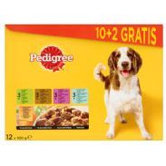 Pedigree Adult 100g 10+2 Sztuki Gratis