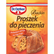 Dr.Oetker Proszek Do Pieczenia 30 G Backin
