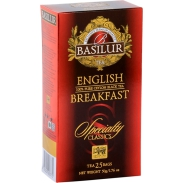 Basilur Herbata - English Breakfast 25 torebek