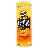 Pringles Tortilla Chips Nacho Cheese 160g