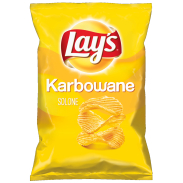Lay's Karbowane Solone 130g