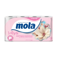 Mola Papier Toaletowy Magnolia   8 Rolek