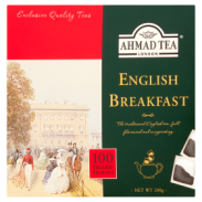Ahmad Tea English Breakfast Herbata Czarna 200g 100TB Bez Zawieszki