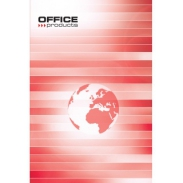 Brulion Office Products, A5, w linie, 96 kart., 55gsm