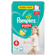 Pampers Pieluchy Pc Pants Jumbo Ext.Large 44 sztuk