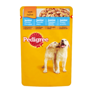 Pedigree Jun.Kurcz.Ryż/Gal 100g